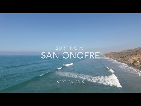 Surfing at San Onofre Summer 2015