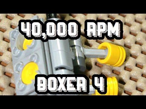 Making An Indestructible LEGO engine 40,000 RPM - YouTube