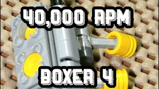 Making An Indestructible LEGO engine 40,000 RPM