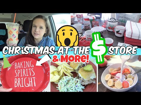 *NEW* CHRISTMAS AT DOLLAR GENERAL & DOLLAR TREE HAUL! | GET IT NOW!