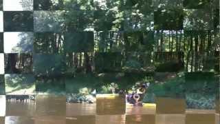 Jim Thorpe Pa and Kayaking through the Deleware River Water