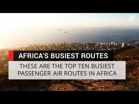 Routes reveals top ten busiest African flights
