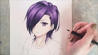 Hanzo Urushihara (Lucifer) Speed Drawing (The Devil is a Part-Timer!)