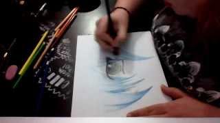 drawing/coloring an anime eye Thumbnail
