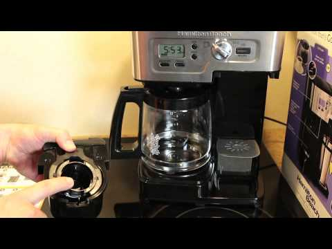 Review Of The Hamilton Beach 2 Way Flexbrew Coffeemaker Youtube