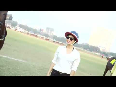 Jacqueline Fernandez and Randeep Hooda Attends Horse Racing At Mahalaxmi Racecourse