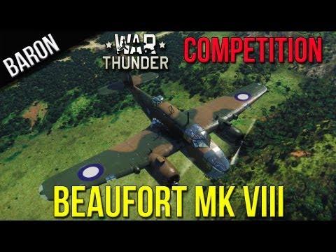 War Thunder Contest - Baron's Beaufort Beast Contest