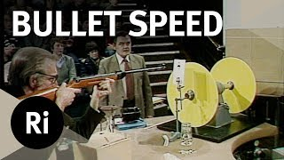 Velocity of a Bullet - Christmas Lectures with RV Jones