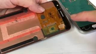 Samsung galaxy express 3 - J1 lcd disassembly and installed