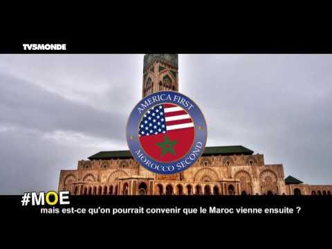 "#MOE - ""Morocco second"", la réponse humoristique marocaine au slogan ""America first"""