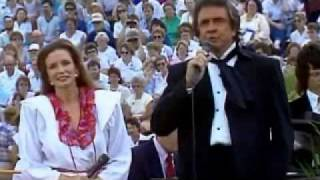 Johnny & June Carter Cash Over The Next Hill We'll Be Home.wmv