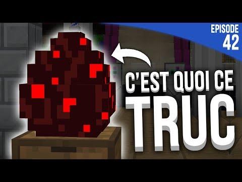 J'AI TROUVÉ CE MACHIN DANS MA BASE... | Minecraft Moddé S4 | Episode 42