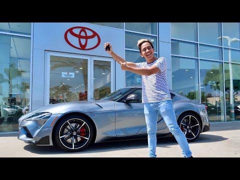 Calvin Bought a 2020 Toyota Supra!!