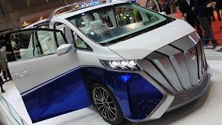 トヨタ車体 が作ったアルファード エルキュール コンセプト。南欧のヨッ...