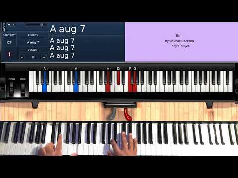 Ben (by Michael Jackson) - Piano Tutorial