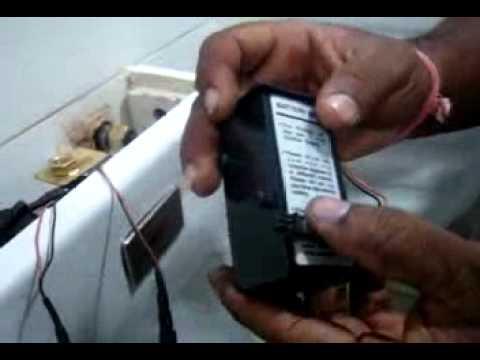LEXICONTECH - Cera Installation Guide, Sensor Urinal Model No: 5005A
