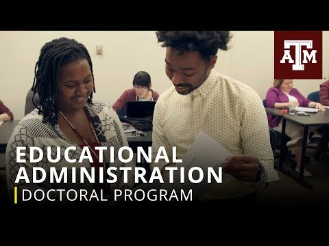 Texas A&M Graduate Programs: Educational Administration