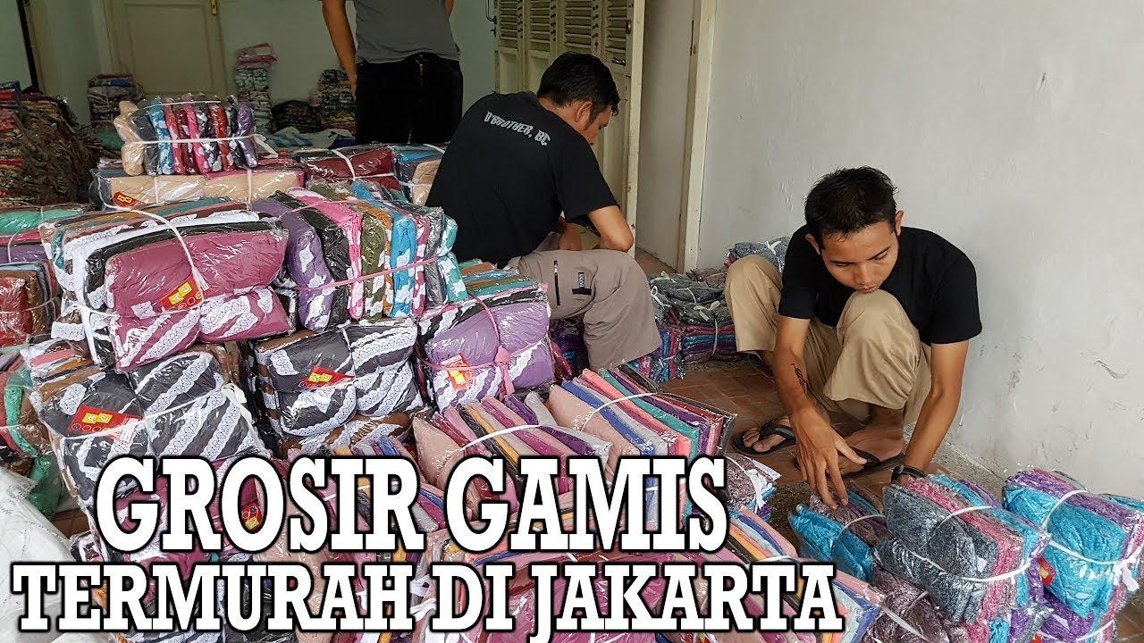 Grosir Gamis Murah Di Jakarta Youtube