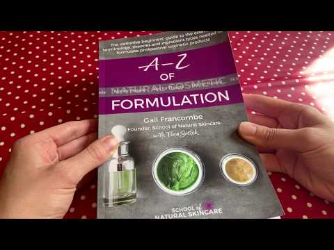 8d86a822844a Look inside the A-Z of Natural Cosmetic Formulation book - YouTube