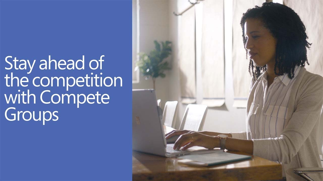 Stay ahead of the competition with Compete Groups in Yammer