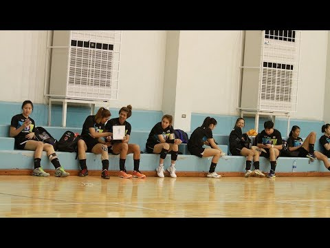 วอลเลย์บอลหญิงทีมชาติไทยซ้อม 20-02-61