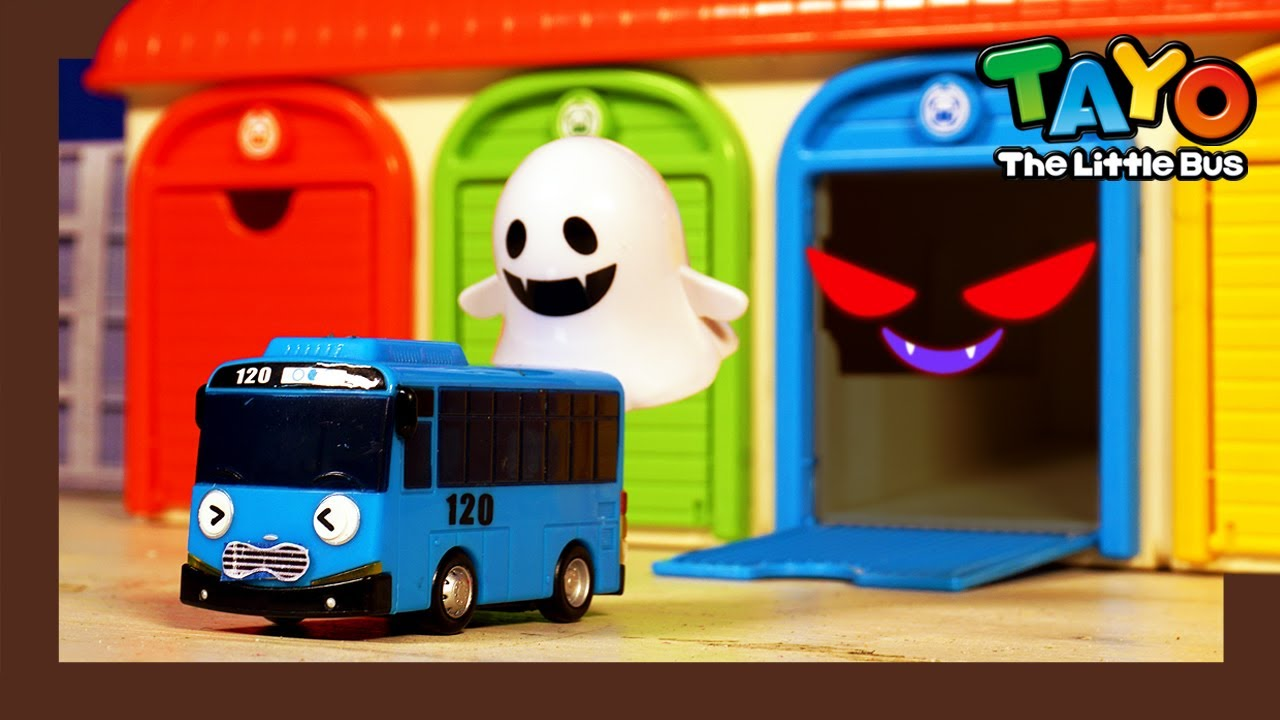 Oh No! Garage Monster is back! l Tayo Monster Police l Tayo the Little Bus