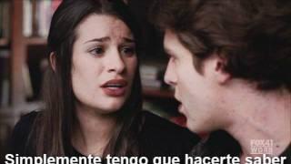 Glee - hello(cover de lionel richie, subtitulado al español)