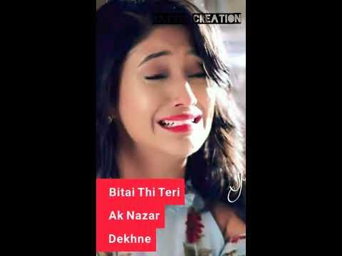 Tune To Mera Dil Bhi Kuch Aise Toda Tha Female Version Sad Full Screen Whatsapp Status