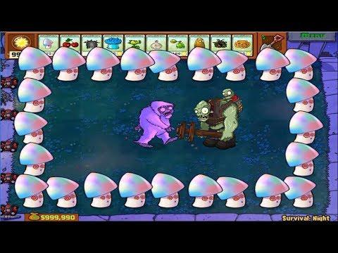 Plants vs Zombies Epic Hack - Yeti Zombies vs Giga-Gargantuar