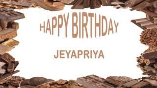 Jeyapriya   Birthday Postcards & Postales