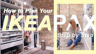 Ikea Pax Wardrobe System | Design Online Step By Step