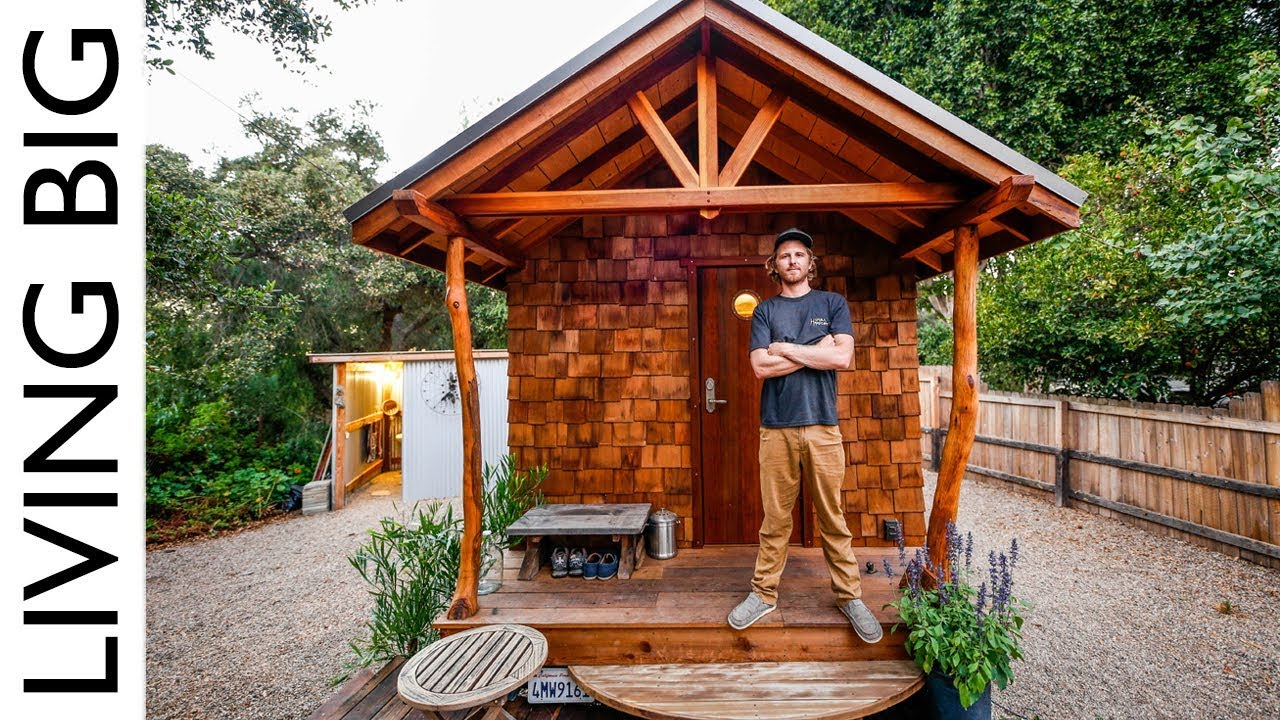 Off Grid Artisan Tiny House Built To Escape Wildfires
