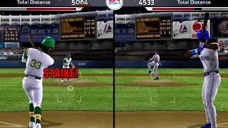 Jose Canseco vs Ken Griffey Jr Home run Derby - MVP Baseball 2005 (1994 Mod)