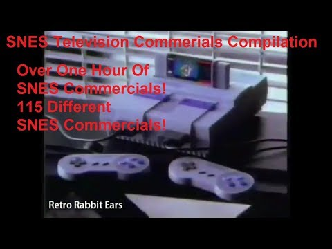 SNES Video Game Commercials One Hour Compilation Of Super Nintendo Commercials!