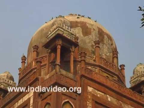 Memorial, Babur, Mughal Emperor, Delhi, India