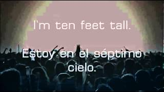 jerewy-Ten Feet Tall Lyrics subtitulada y traducida al español y al ingles