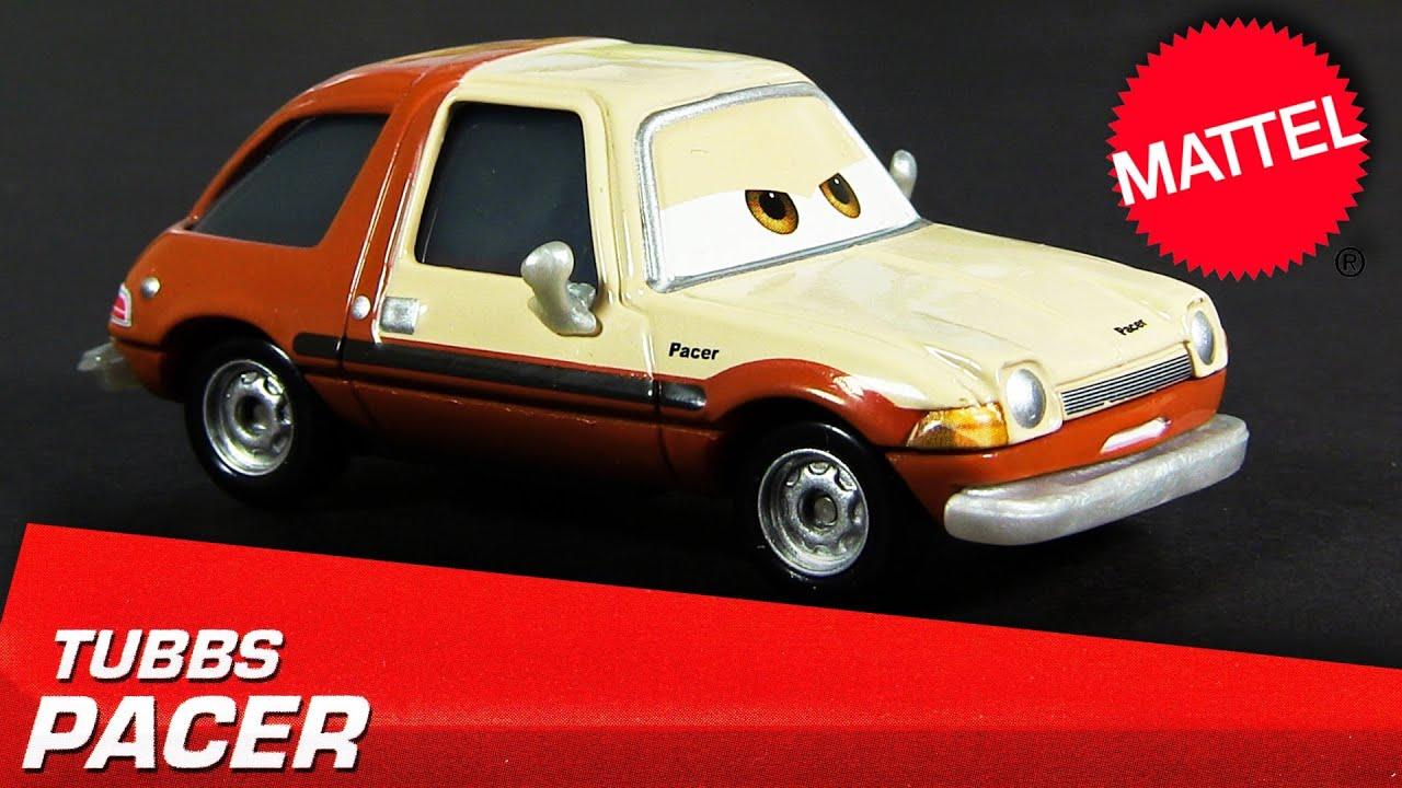 2013 Cars Tubbs Pacer Lemon Boss Die-Cast 1:55 Radiator Springs Disney  Pixar Cars 2