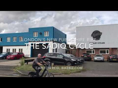 "First ride on the Pashley Prospect ""Sadiq Cycle"" London public hire bike"