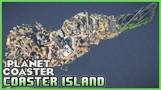 COASTER ISLAND! 14 Rollercoasters! Park Spotlight 71 #PlanetCoaster