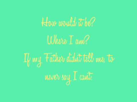 Never Say U Can't - Bruno Mars - Lyrics on Screen