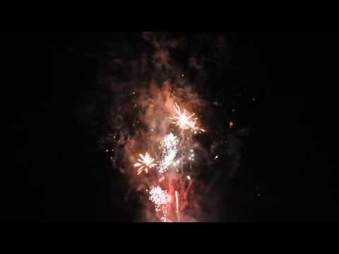 Canada Day Fireworks in Hawkesville, Ontario July 01, 2013