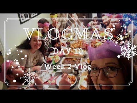 Vlogmas 2017 Day 10 | Week Two Vlog