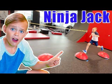 Jack Skye's Ninja Competition |
