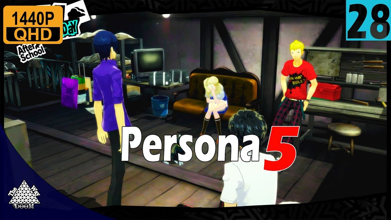 Persona 5 - Proving Our Justice - Walkthrough 28 | 1440p 30FPS