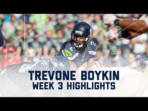 Trevone Boykin Highlights | 49ers vs. Seahawks | NFL Week 3 Player Highlights