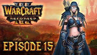 Let's Play 100% DIFFICILE FR - Warcraft III Reforged (Kylesoul) - ep15 : Sylvanus Coursevache !