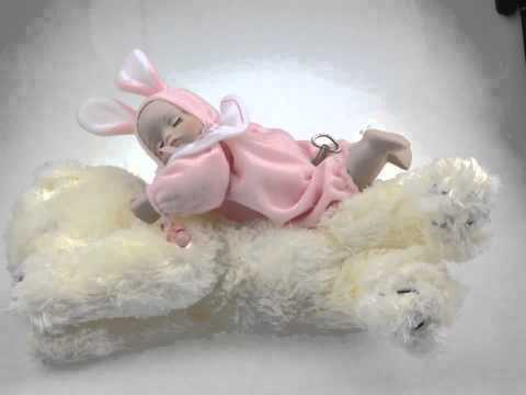 Baby Music Box With Bear