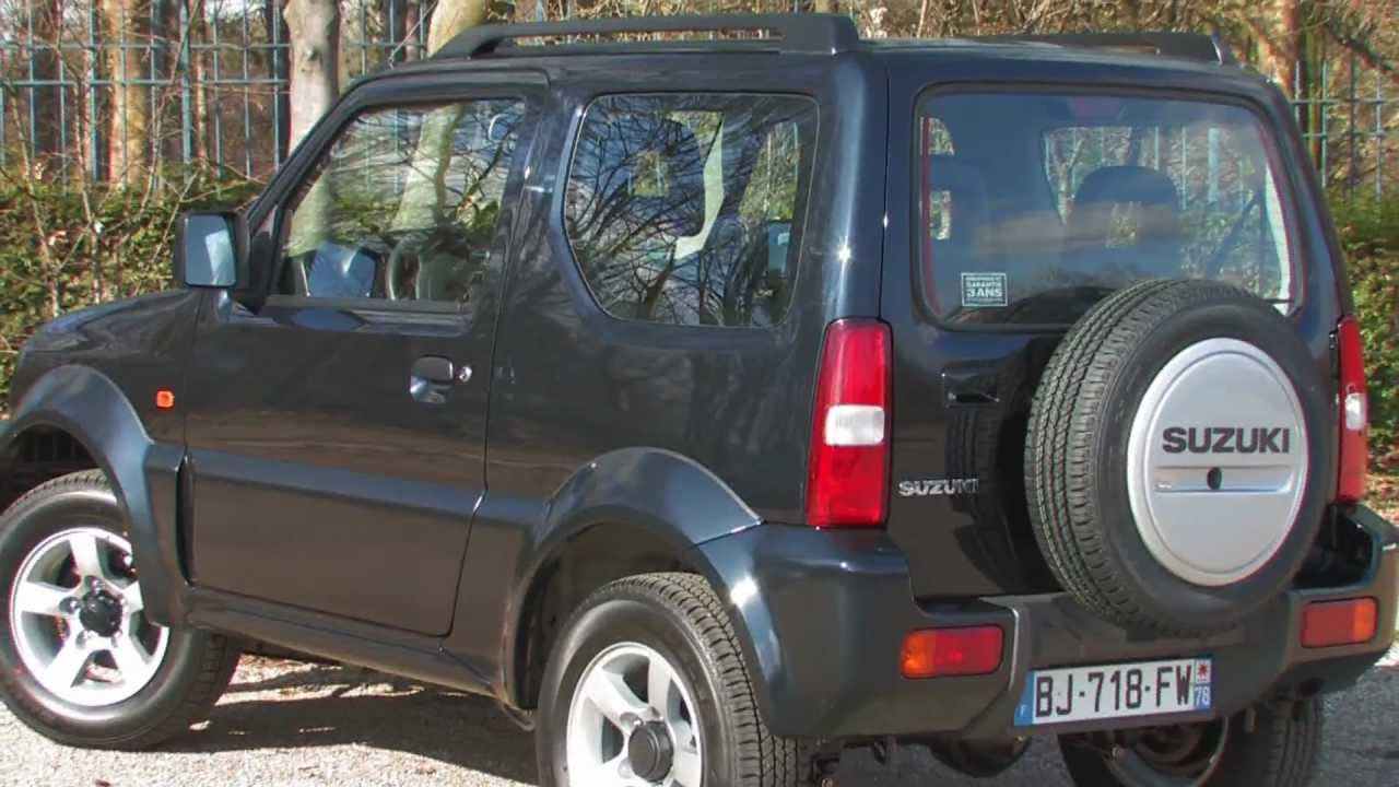 essai suzuki jimny 1 3 vvt jlx 85ch youtube. Black Bedroom Furniture Sets. Home Design Ideas