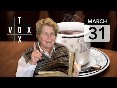 VOX TOX   March 31   Time For Coffee?