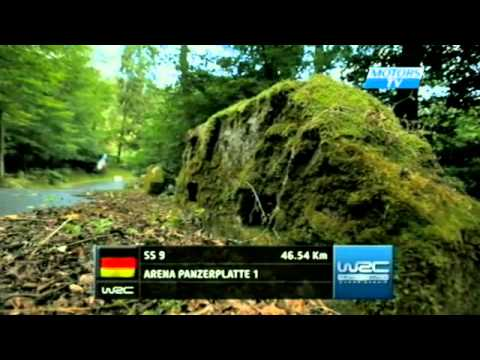 WRC 2012 Germany Day 2 Highlights
